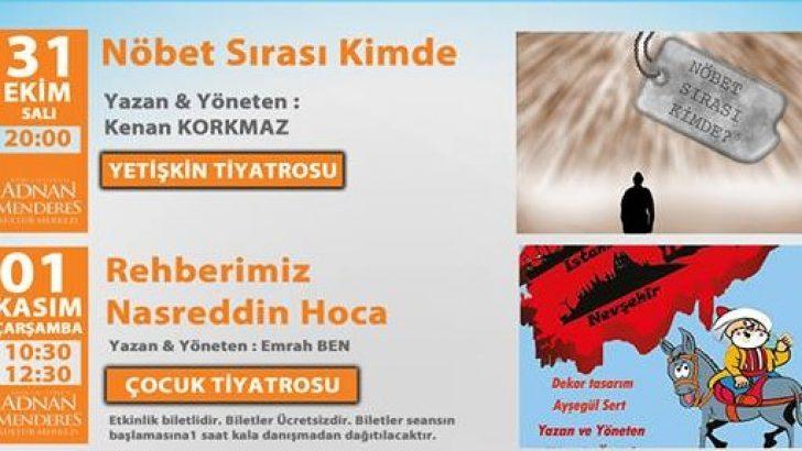 Darıca Adnan Menderes Kültür Merkezi Etkinlikleri