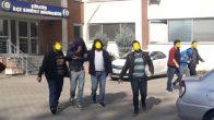 7 İş Yeri Soygununa Karışan Şahıslar Yakalandı