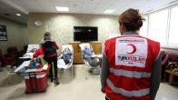 Büyükşehir'den Kızılay'a kan bağışı