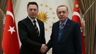 Elon Musk Cumhurbaşkanı Erdoğan'la görüştü