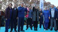 Bakan Kaya, Gebze'de binlerce kadınla yürüdü