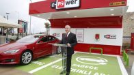 İlk elektrikli araç şarj istasyonunu Gebze'de hizmete açıldı