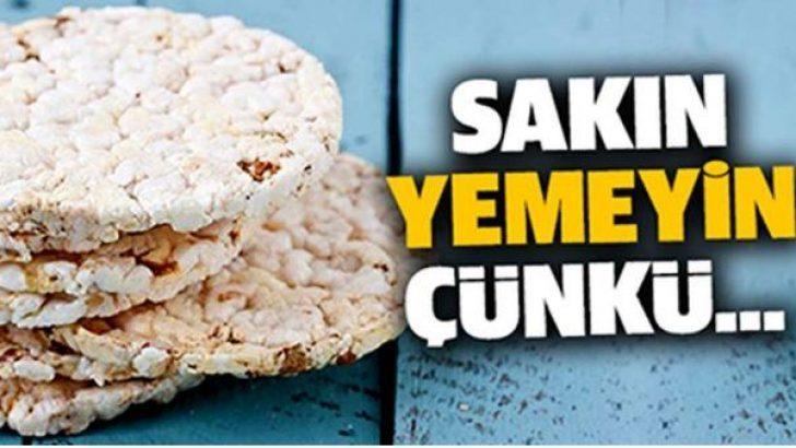 Pirinç patlağına dikkat!