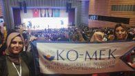 KO-MEK 2. Uluslararası İş'te Kadın Zirvesi'ne katıldı