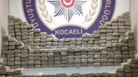 Kocaeli'de Bir Ayda 171 Kilo Esrar, 94 Kilo Eroin Ele Geçirildi