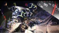İki Araç Kafa Kafaya Çarpıştı, İbre 130'da Takılı Kaldı: 2 Ölü