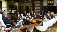 Başkan Baran, Oda Başkanları ile Bir Araya Gedli