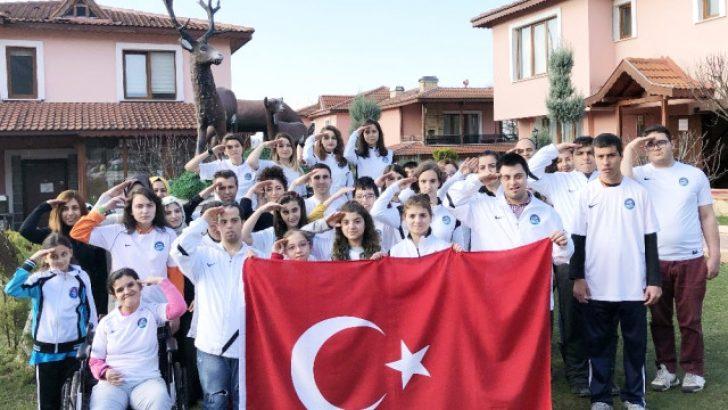 Engelli Öğrencilerden Afrin Kahramanlarına Özel Destek