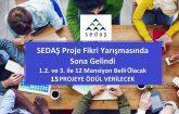 SEDAŞ 3.Proje Fikri Yarışmasında Gözler Ödül Töreninde