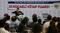 Gazeteci Cüneyt Özdemir, Kocaeli Kitap Fuarı'nda mesleğini anlattı