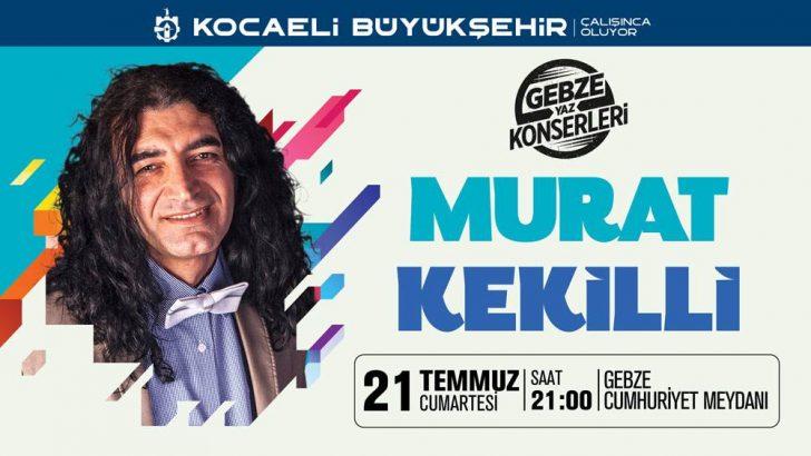 Gebze Yaz Konserleri – Murat Kekili Konseri