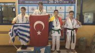 Minik Judocular Balkanlardan 6 madalya ile döndüler